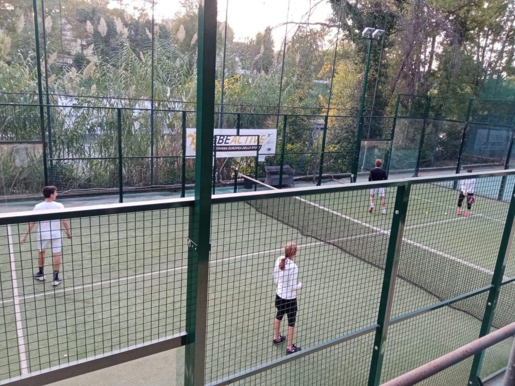 Virtus Tennis Bologna Padel イタリア