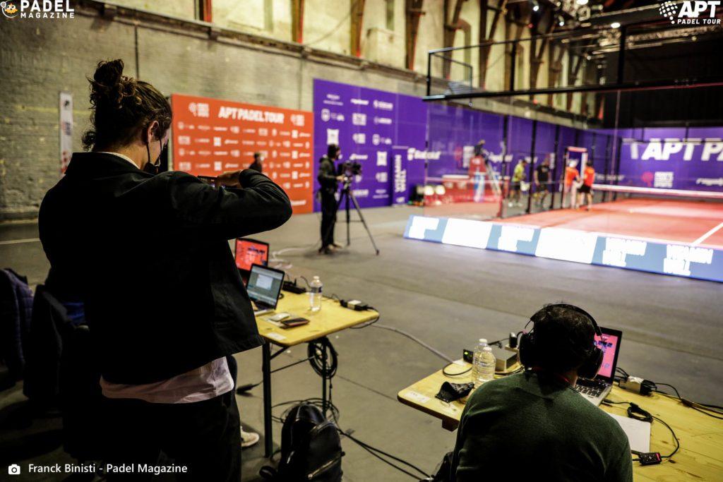 Live APT Padel Belgian kiertue - Oliveira / Rocafort vs Braet / Gala