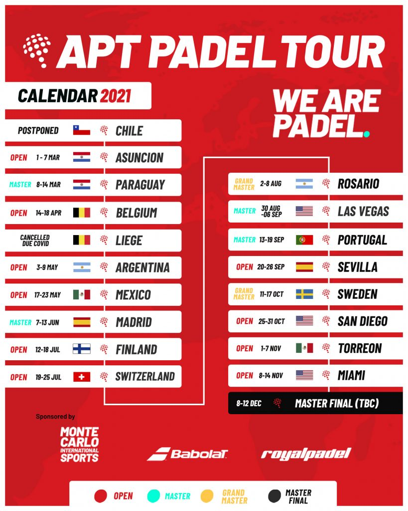 calendario adatto padel in giro 2021
