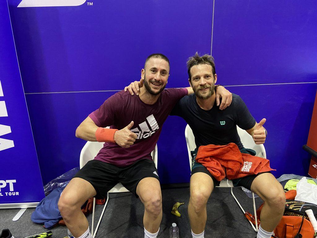 "APT Belgium Open : Inzerillo/Moreau rejoint ""les potes"""