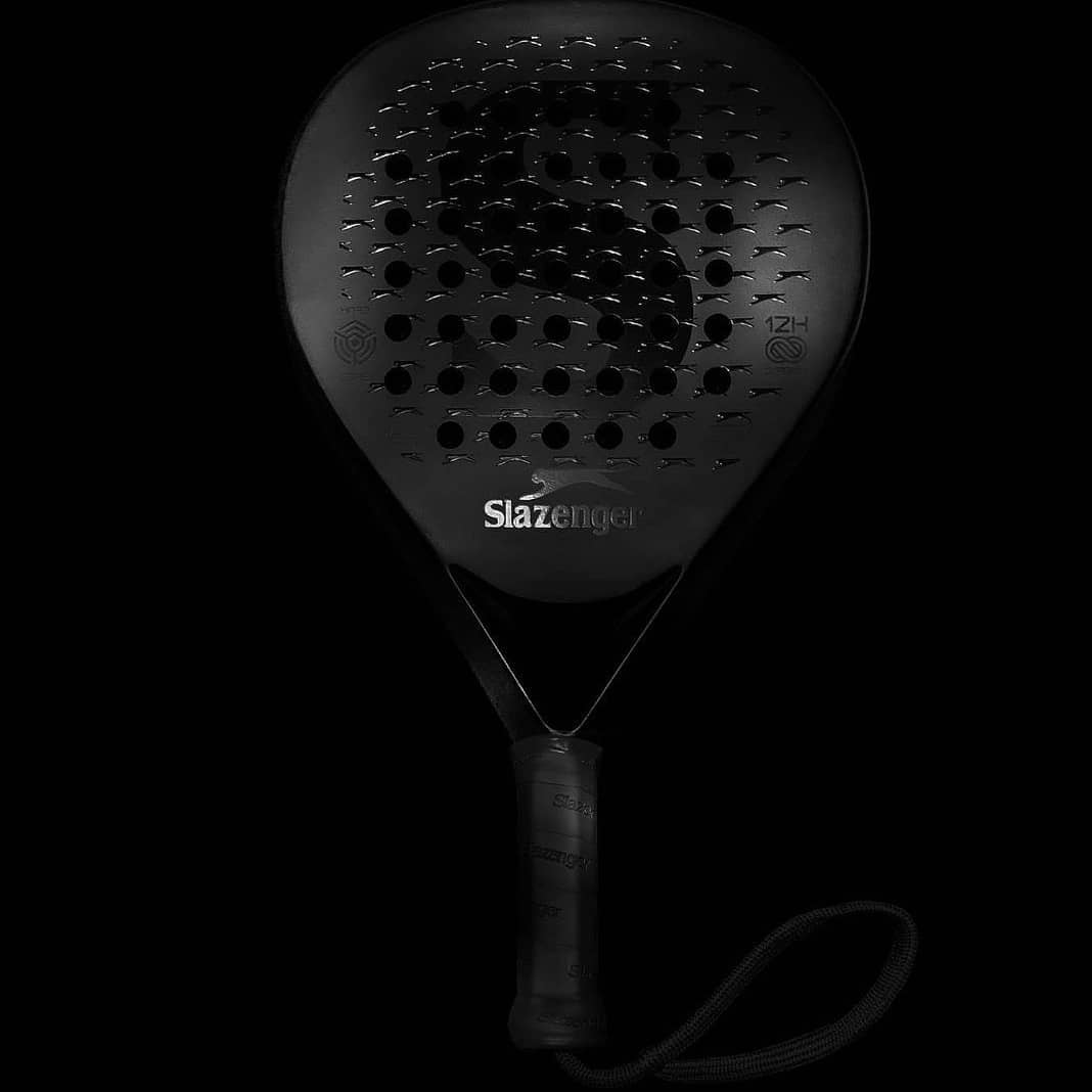 raqueta padel Slazenger negro