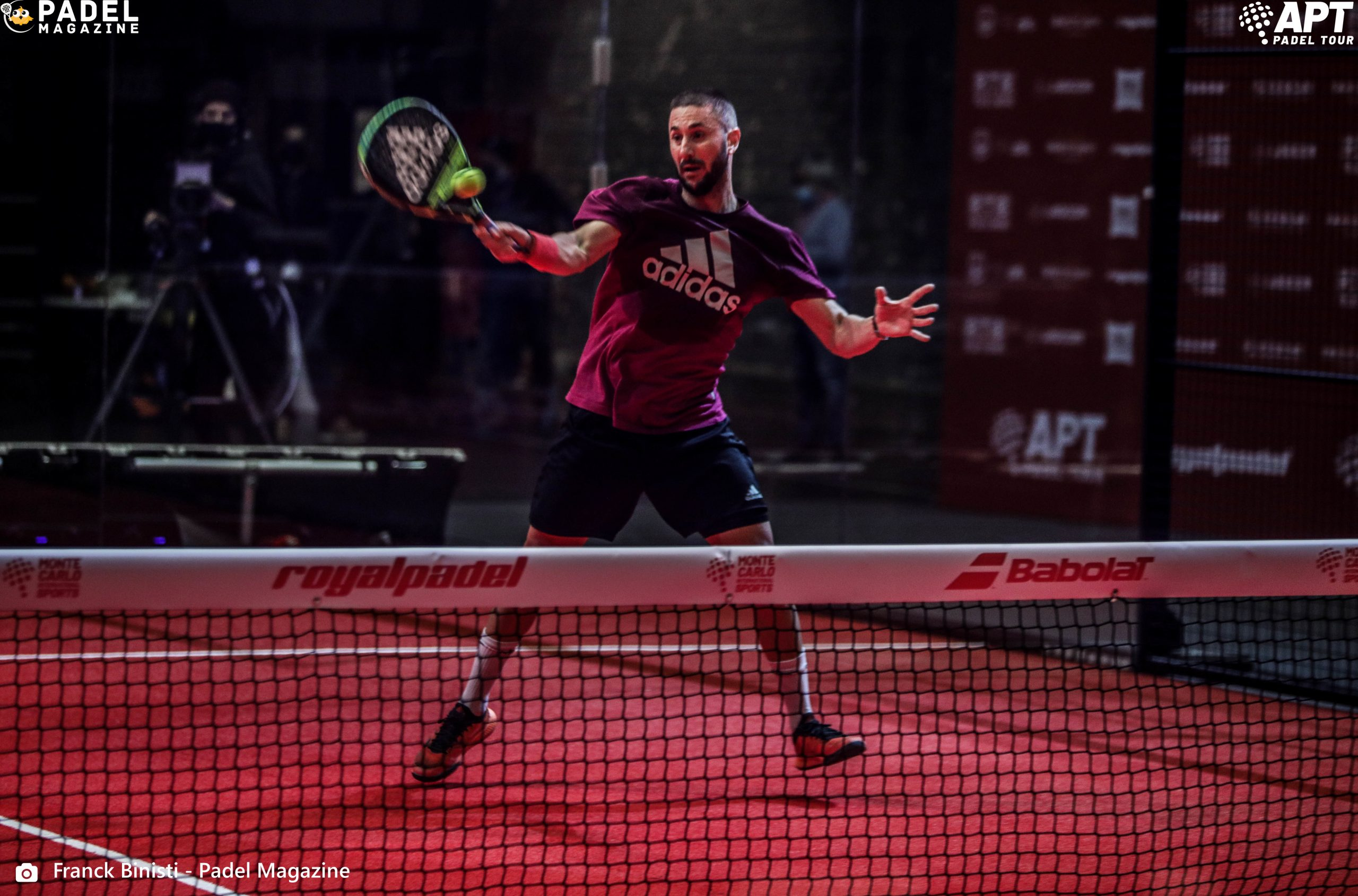 volley forehand max moreau