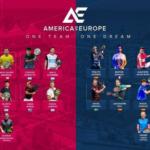 America vs Europe Padel paires présentes
