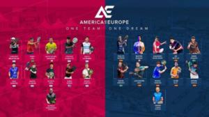 America vs Europa Padel coppie presenti
