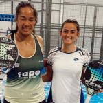 Ariadna Cañellas Léa Godallier voitto wpt santander Open