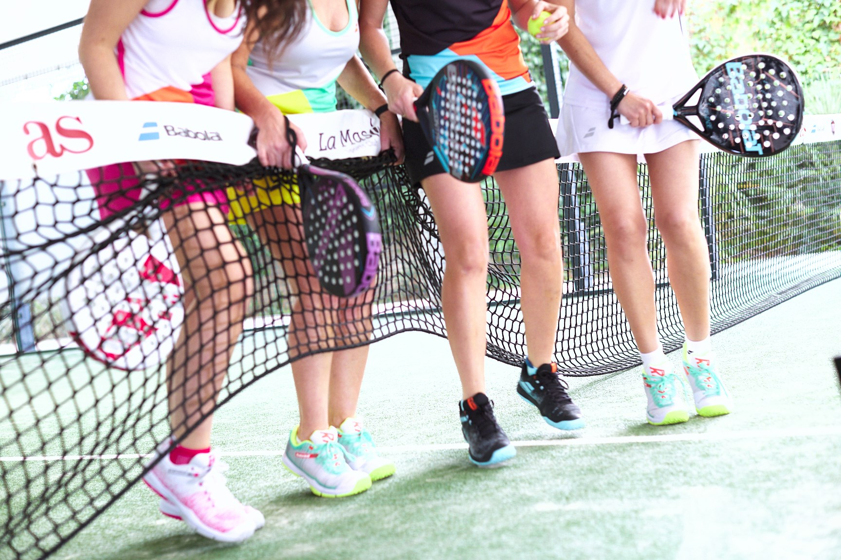 Babolat : the new shoes 100% padel for women