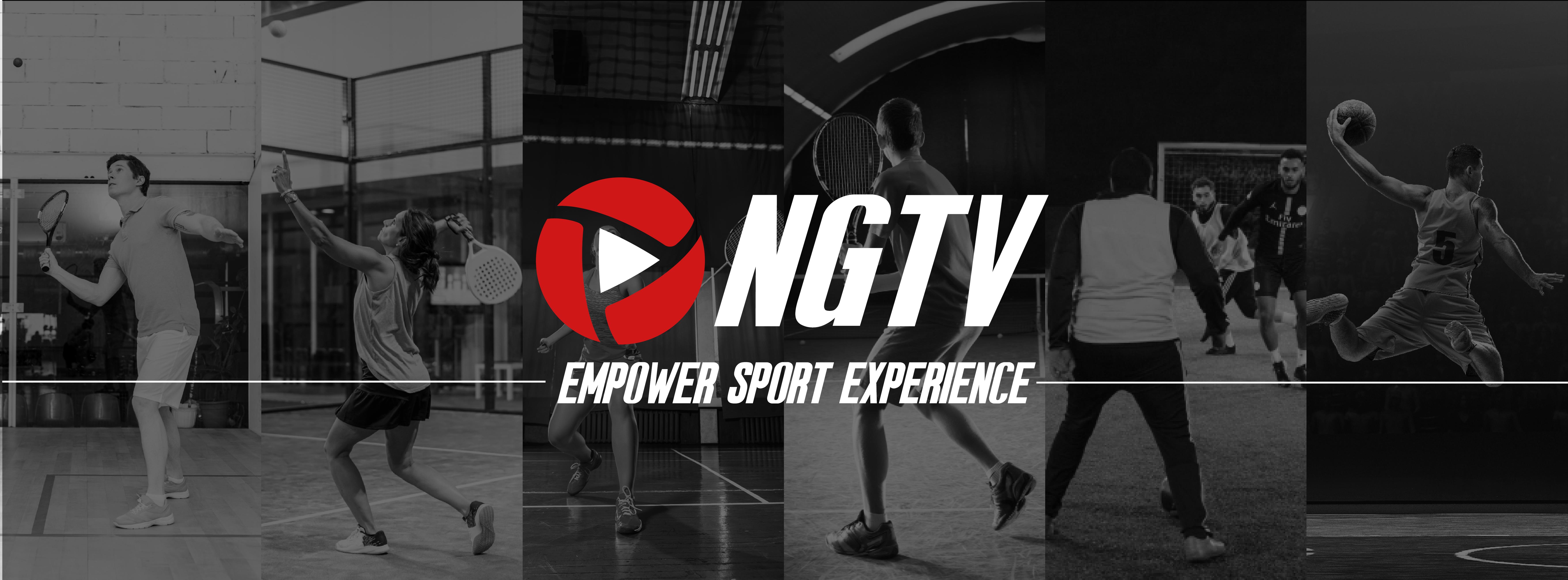 Bannière NGTV empower sport