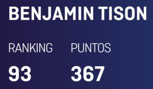 Benjamin tison world padel tour 93e