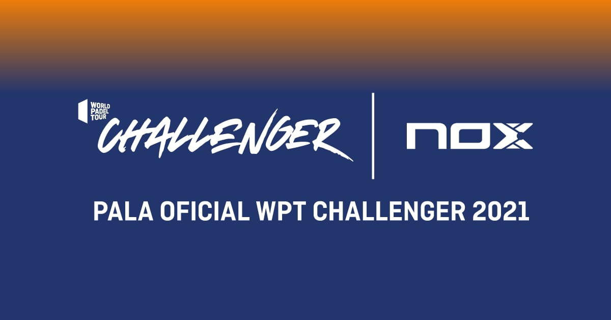 Nox, racchetta ufficiale per il WPT Challenger fino al 2023