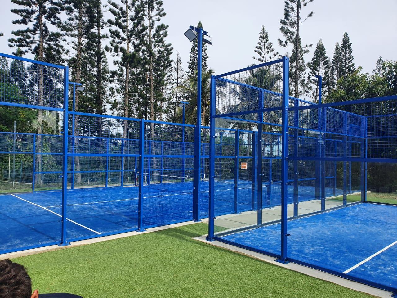 terrain Nouvelle Calédonie tennis padel