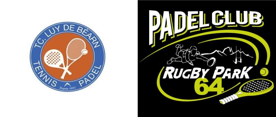 ラグビーパーク64TCLUydeBéarnロゴ padel