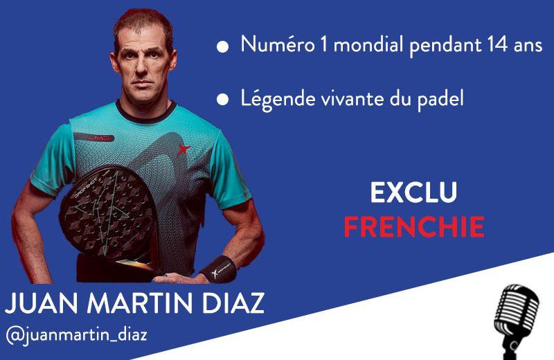 Juan Martin Diaz live denne søndag kl. 19!