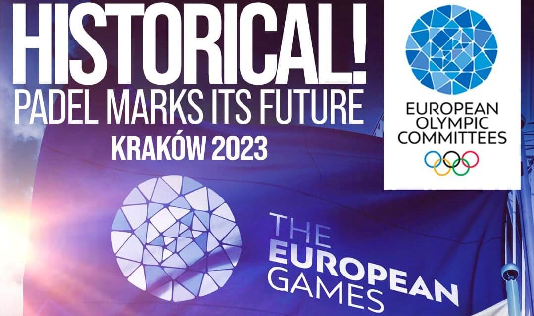 Storia: il padel ai Giochi Europei del 2023!
