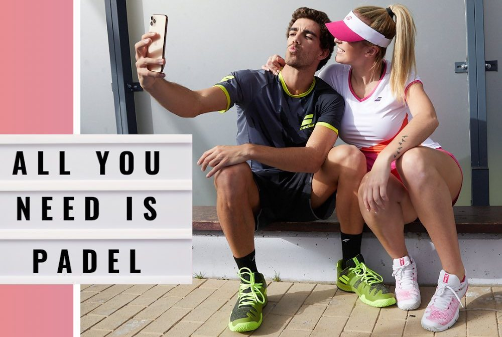 """Babolat : """"All you need is padel ! """""""