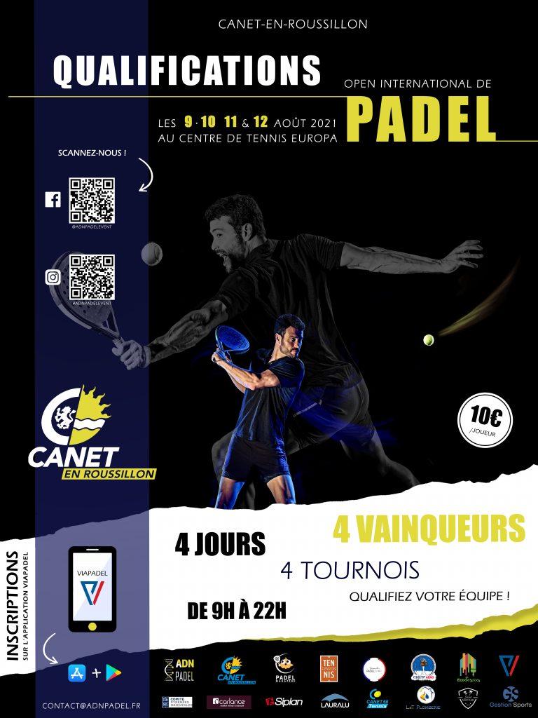 international qualifiers padel 2021