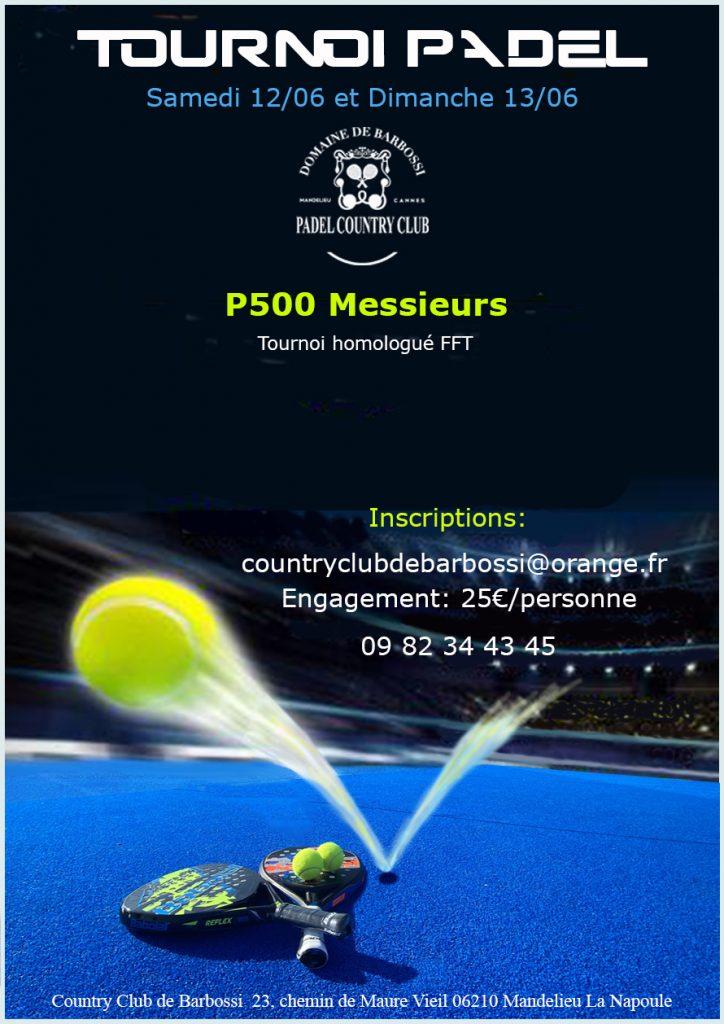 turniej country barbossi Padel P500 [4196]