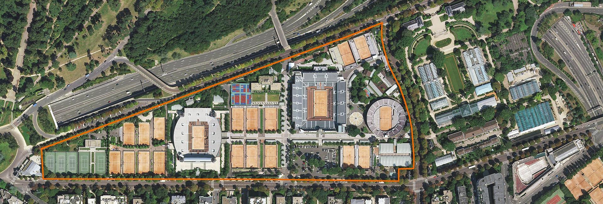 padel Roland Garros 2021 plan