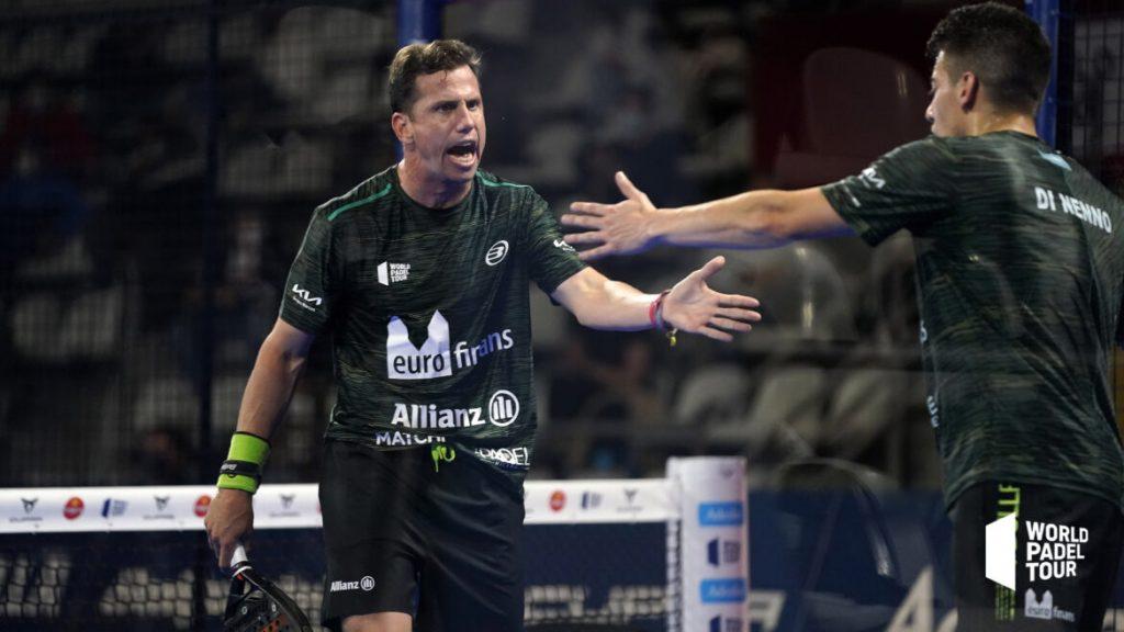 Ćwierćfinał Paquito Navarro klaskał w rękę Martin di Nenno