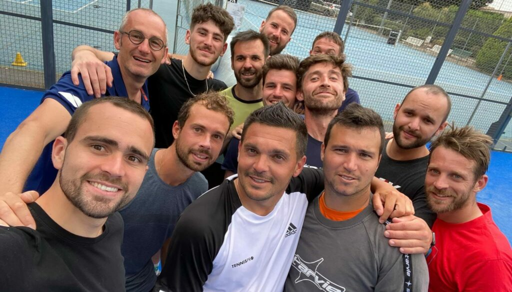 フランスチームインターンシップペルピニャン2021男子チーム