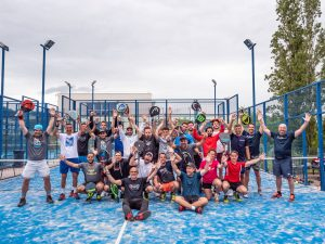 twenty by ten stage padel experience
