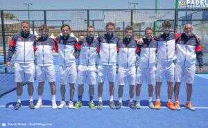 Team France messieurs europe 2021
