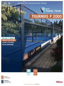 Affiche 2021 du 1er P2000 de la saison 2021 à Perpignan