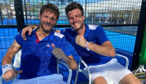 Bergeron Scatena sourires qualification France Europe Marbella 2021