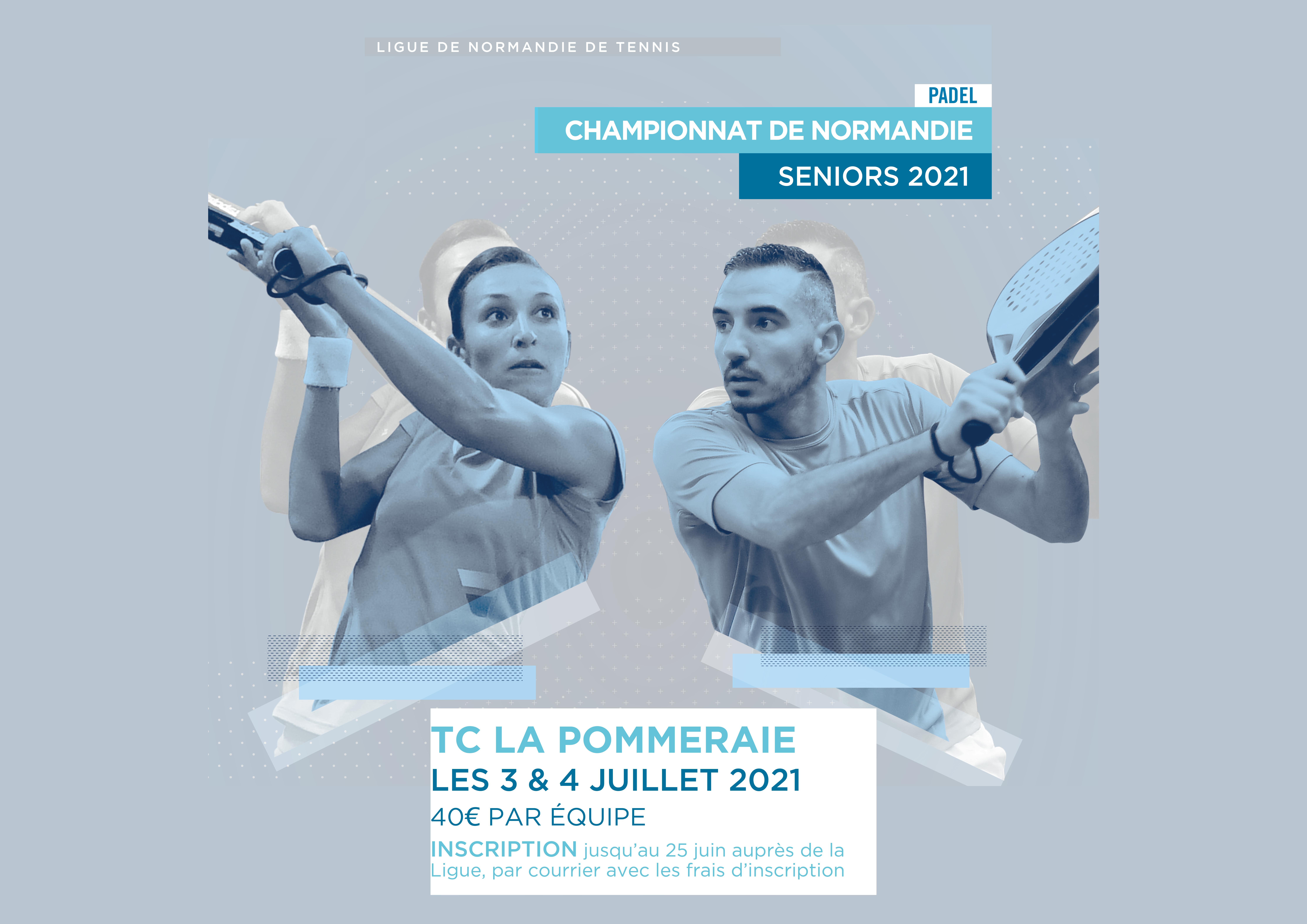 Campionati di Normandia Padel - dal 3 al 4 luglio 2021