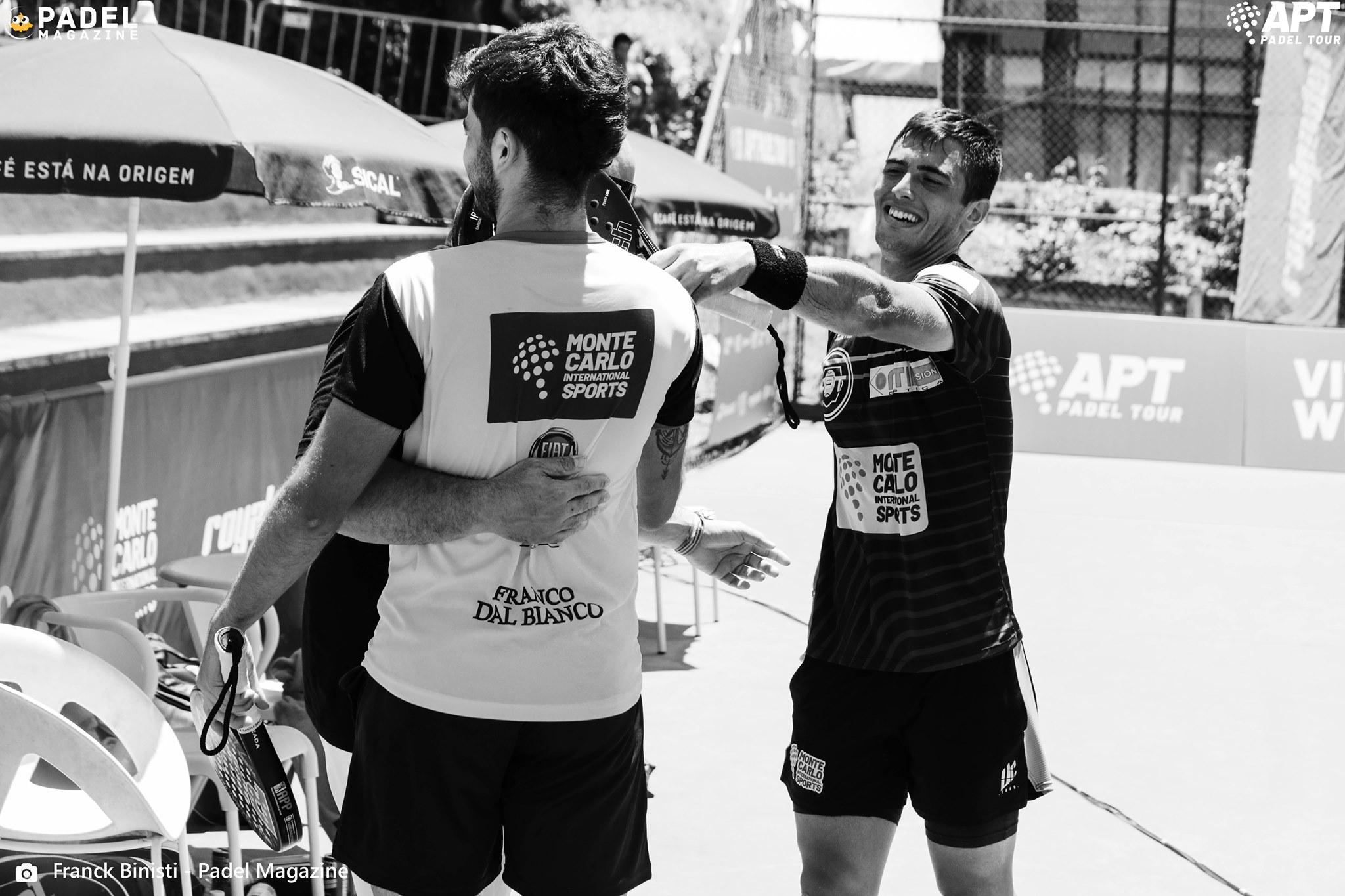 Dal Bianco Arce victoire célébration APT Padel Tour Portugal Master