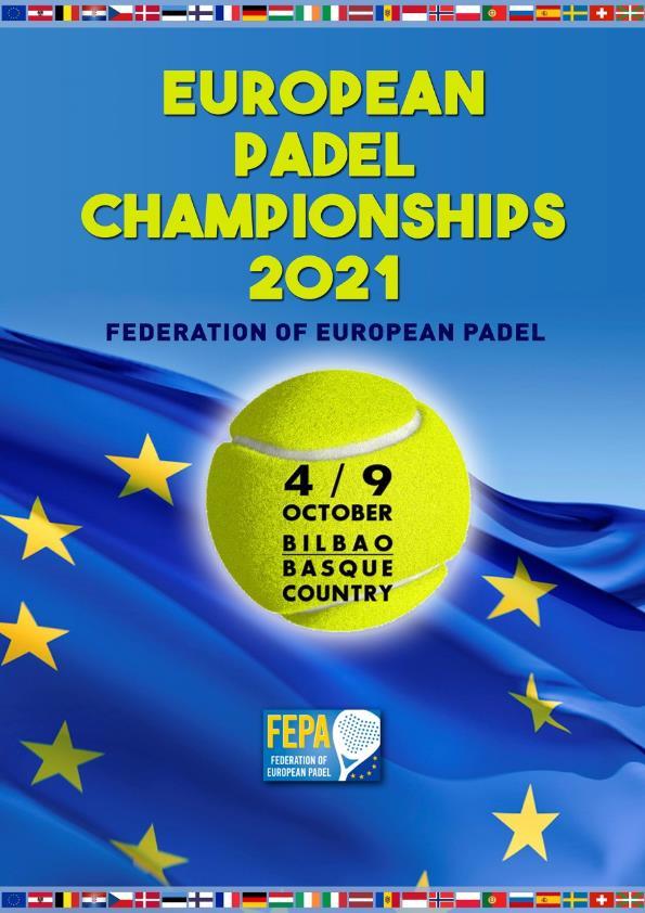 FEPA näyttää Bilbaon EM-kisat syyskuussa 2021