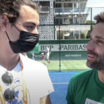 Interview Arnaud clément Roland Garros padel 2021