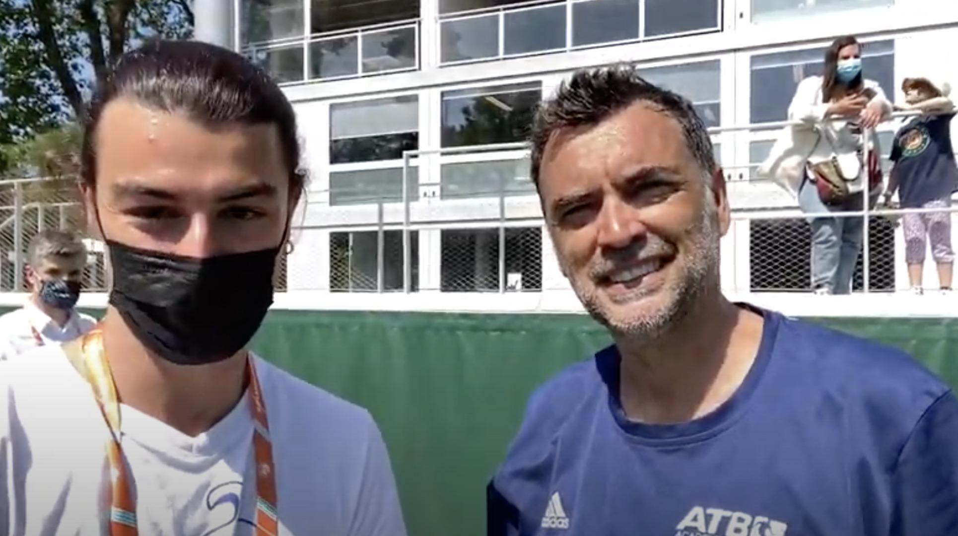 Interview avec Sergi Bruguera Roland-Garros Padel