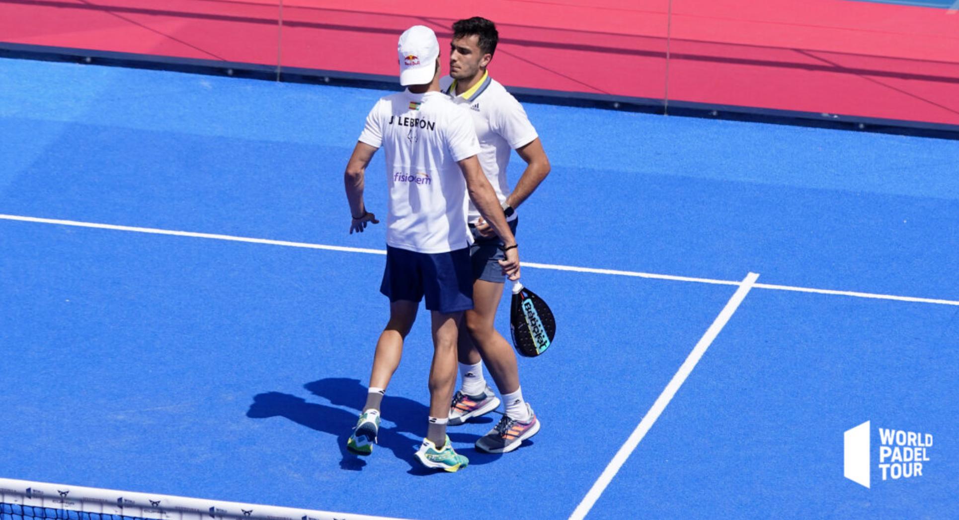 Juan Lebron et Ale Galan Vainqueur Marbella Master 2021