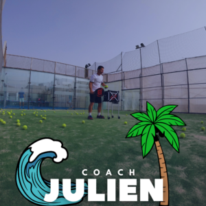 Julien Bondia coach la toupie bleue tenerife