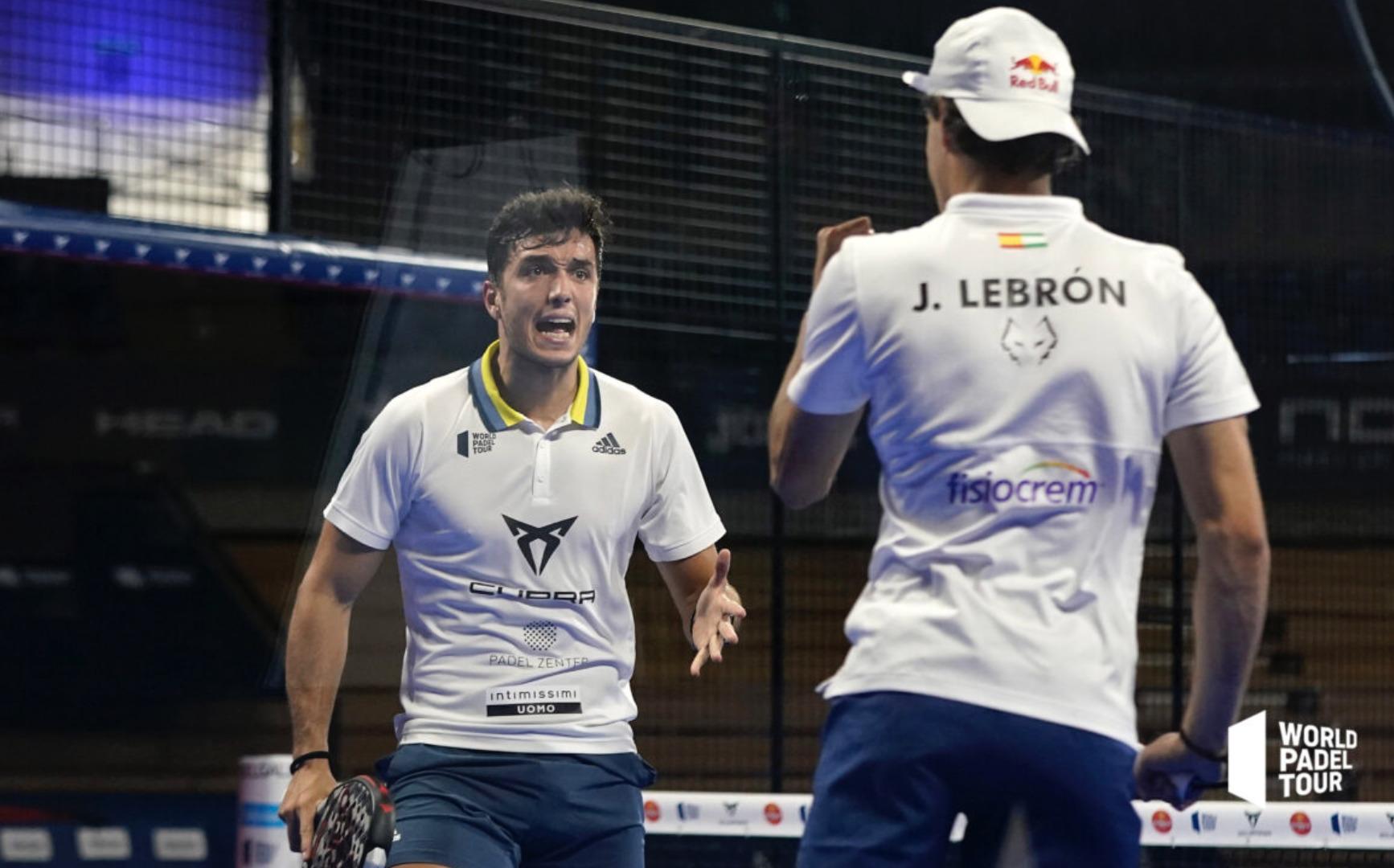 Lebron MVP Final Santander Open 2021 Padel