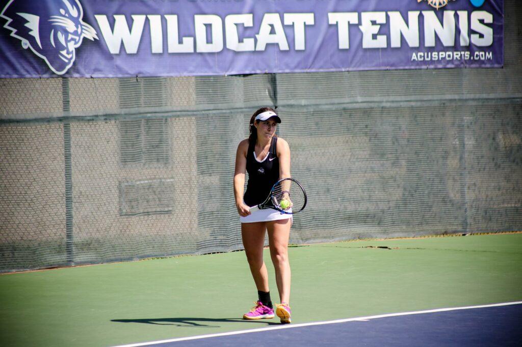Lucile Pothier Wildcat Tennis