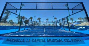 Marbella European padel championship central court 2021