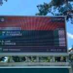Match d'exhibition Padel à RG