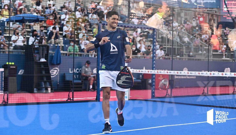Maxi Sanchez poing serré victoire Valladolid Master WPT huitièmes