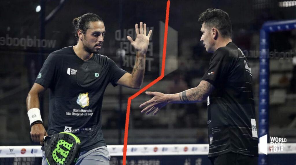 Pablo Lijo 和 Tito Allemandi 分离 WPT 2021 Padel
