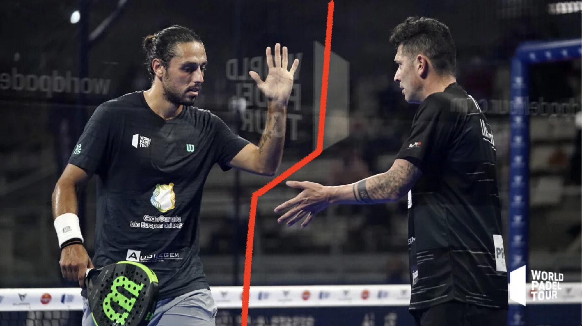Pablo Lijo et Tito Allemandi Séparation WPT 2021 Padel