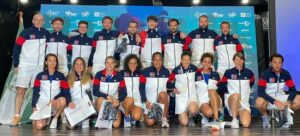 Photo de groupe équipe de France féminine et masculine Marbella 2021 Europe