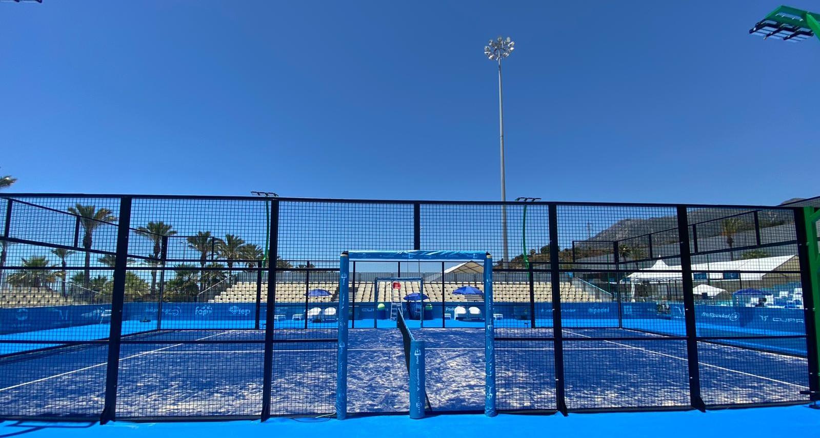 Pista de padel marbella campeonato europa 2021 FIP