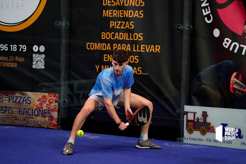 Thomas Leygue défense revers Santander Open WPT