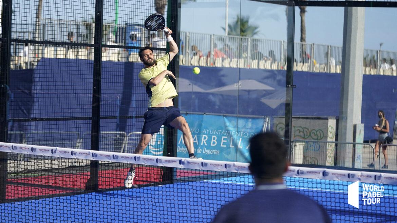 Tison smash grille WPT Marbella Master 2021