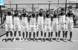 équipe de France marbella Europe 2021 noir et blanc
