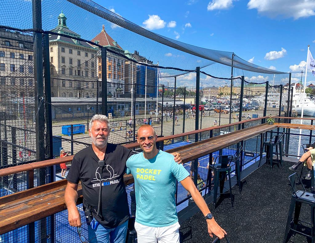 创始人 padel 浮动瑞典