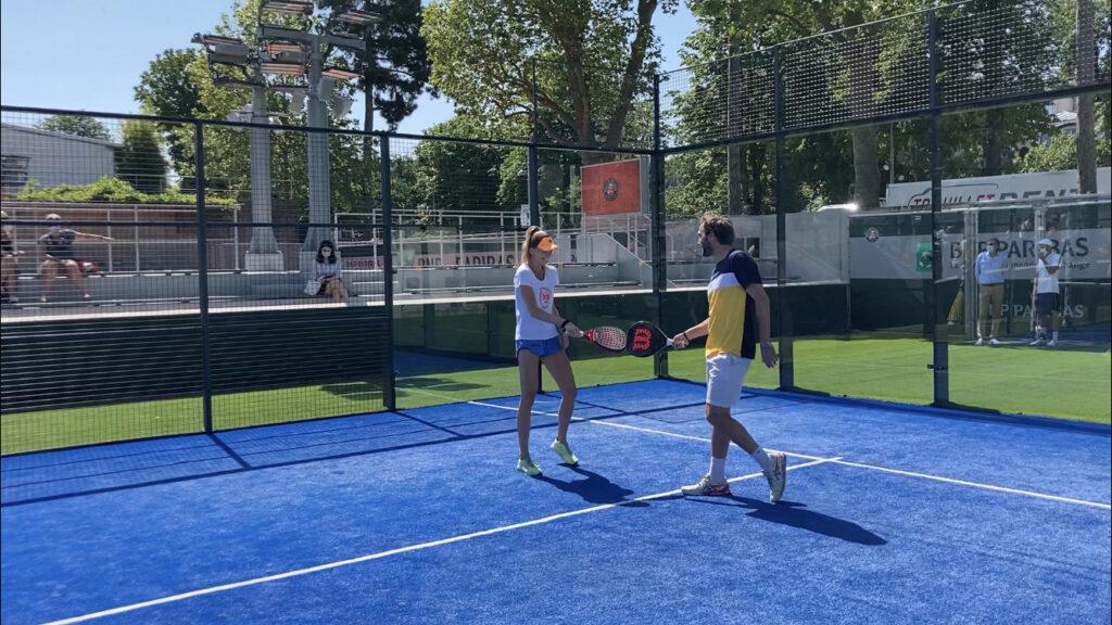 hantuchova di pasquale padel Roland Garros