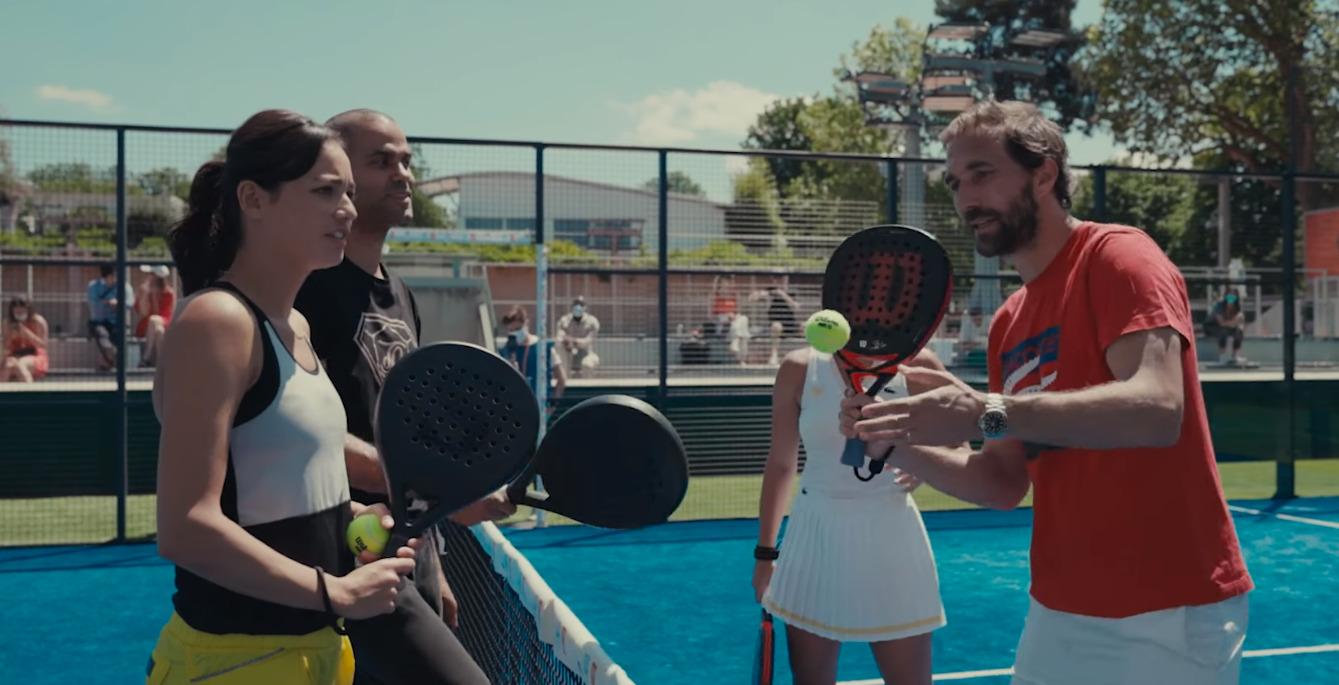 Parker Barsotti di Pasquale Lim Roland Garros padel