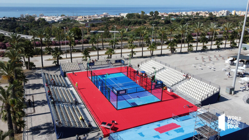 pista centrale WPT Marbella Master 2021 Recinto Ferial
